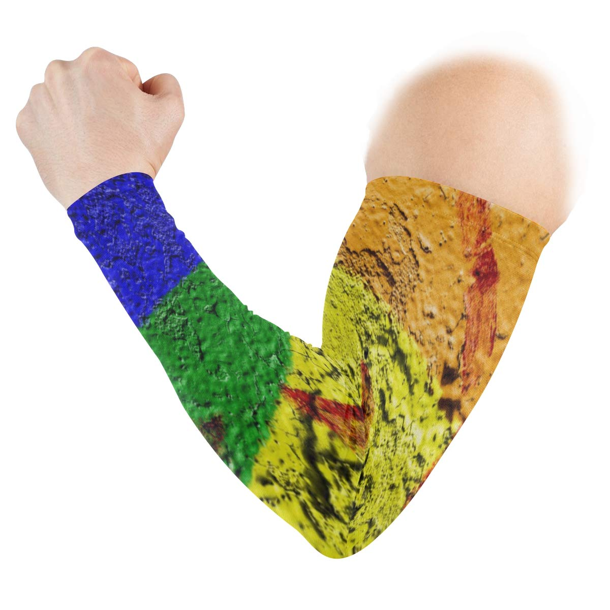 Arm Sleeves LGBTQ Youth Suicide Prevention Program Mens Sun UV Protection Sleeves Arm Warmers Cool Long Set Covers