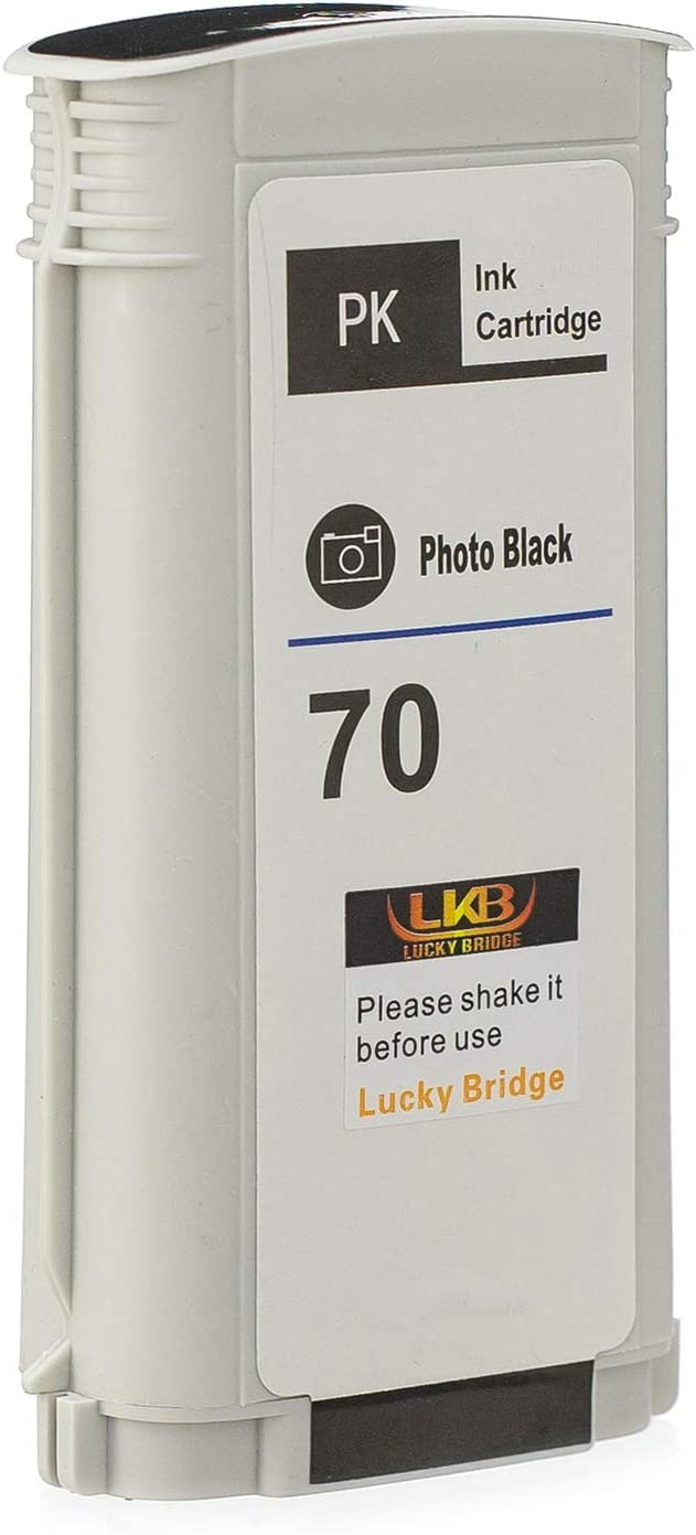 VividColors Remanufactured HP 70 Matte Black C9448A For Printer Z5400 HP70 MK