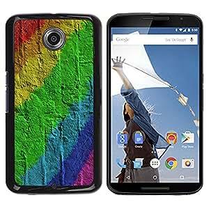 Be Good Phone Accessory // Dura Cáscara cubierta Protectora Caso Carcasa Funda de Protección para Motorola NEXUS 6 / X / Moto X Pro // Wall Brick Pattern Gay