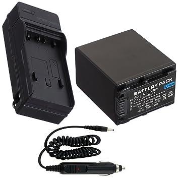 Batería + Cargador para Sony HDR-PJ320 HDR-PJ340 videocámara ...