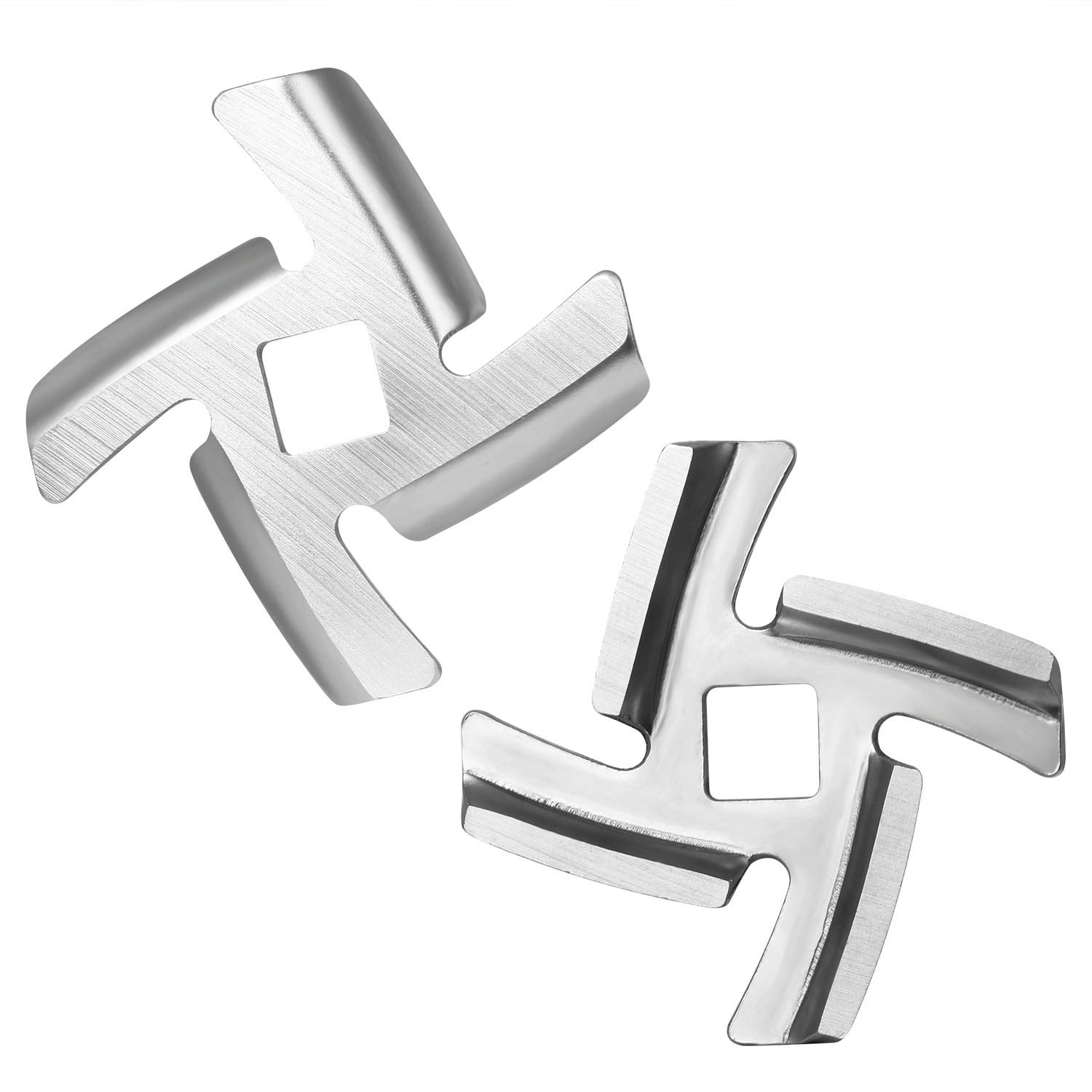 iVict 2-Pack Food Meat Grinder Blade Stainless
