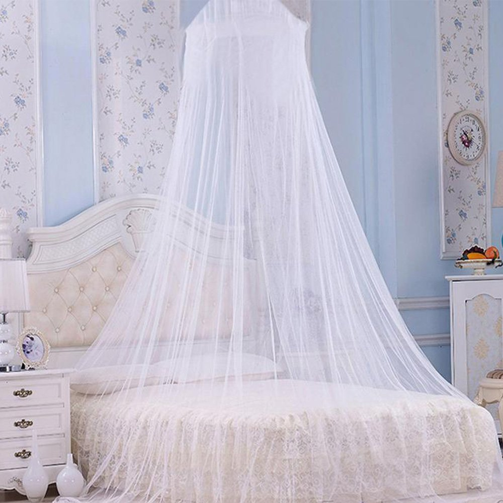 Dentelle blanc moustiquaire ciel de lit H-Tech