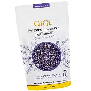 Amazon Com Gigi Hard Wax Beads For Hair Removal 14 Oz Relaxing