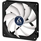 ARCTIC F12 Silent - Ultra-Quiet 120 mm Case Fan | Silent Cooler with Standard Case | almost inaudible | Push- or Pull Configuration possible