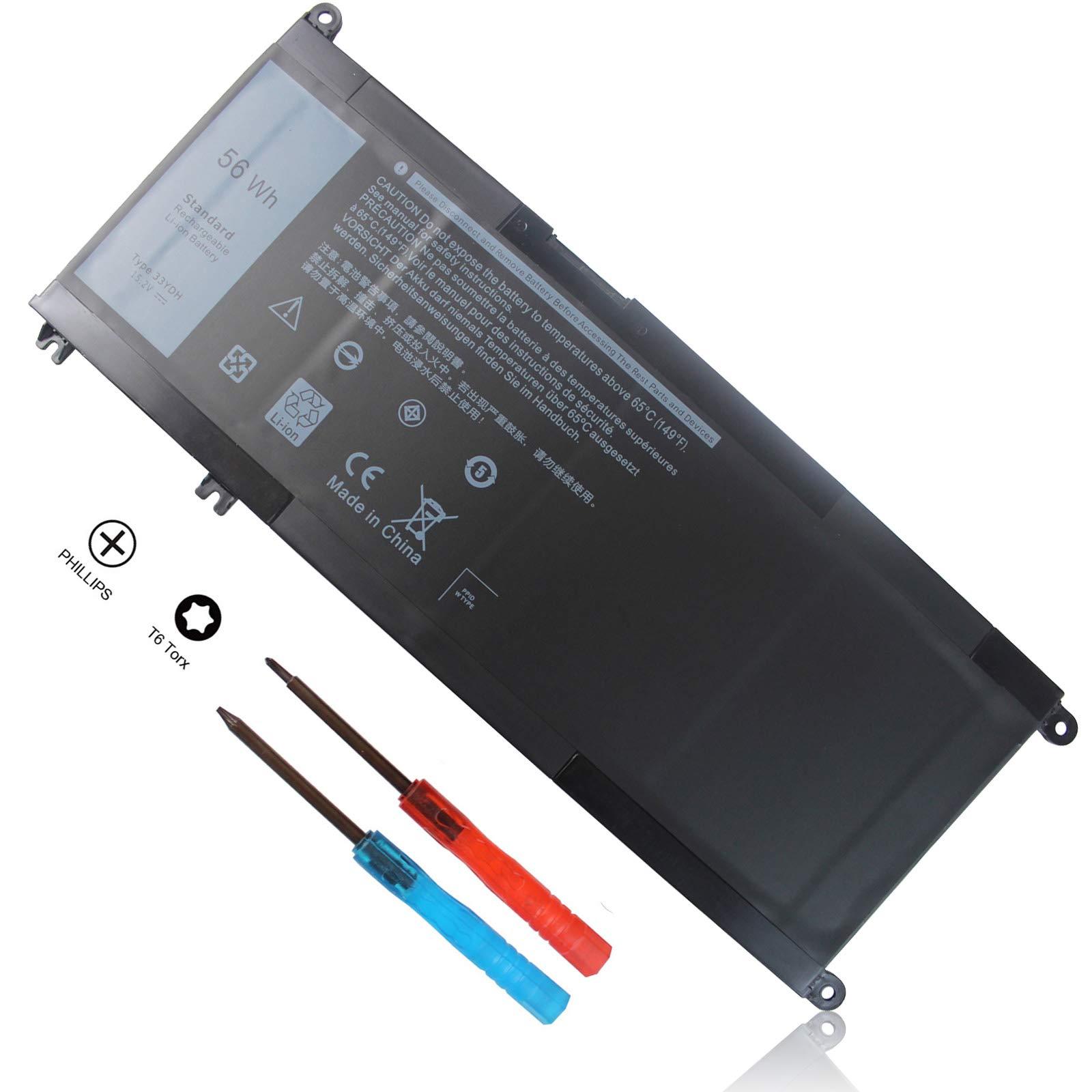 Bateria 15.2V 56Wh 33YDH Dell Inspiron 17 7000 7778 7779 778