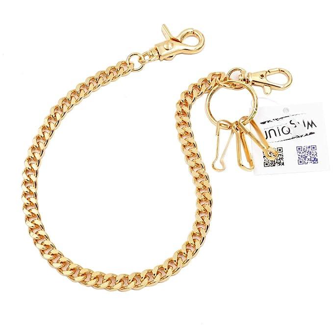 Amazon.com: Llavero de eslabones cortos y ligeros con cadena ...