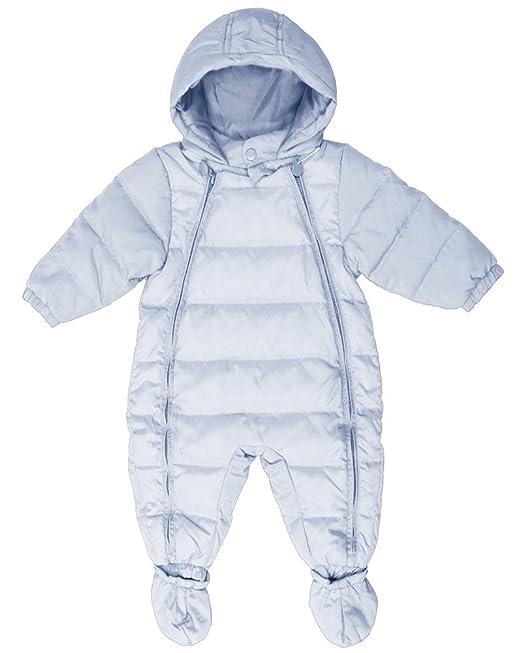 ZhuiKun Traje de Nieve Bebé Niña Capucha Plumón Mono Abrigo ...