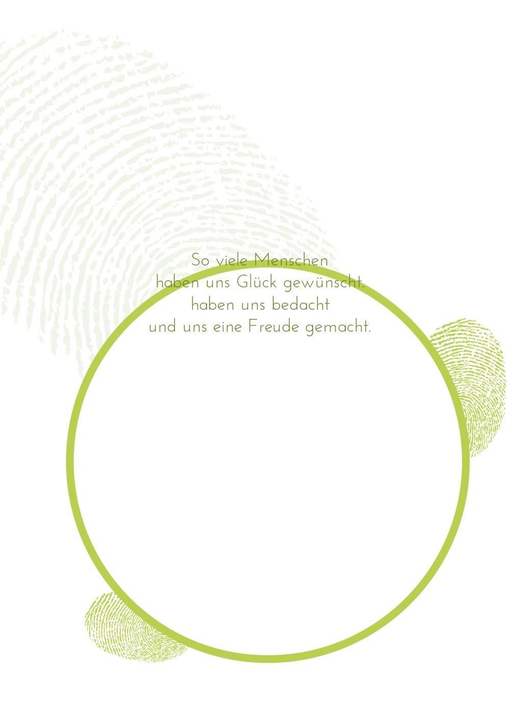 Kartenparadies Danksagung für Hochzeitsgeschenke Hochzeit Dankeskarte Dankeskarte Dankeskarte fingerprint, hochwertige Danksagungskarte Hochzeitsglückwünsche inklusive Umschläge   20 Karten - (Format  105x148 mm) Farbe  RosaLila B01N7ULJ5O | Attraktive Mode  32daf0