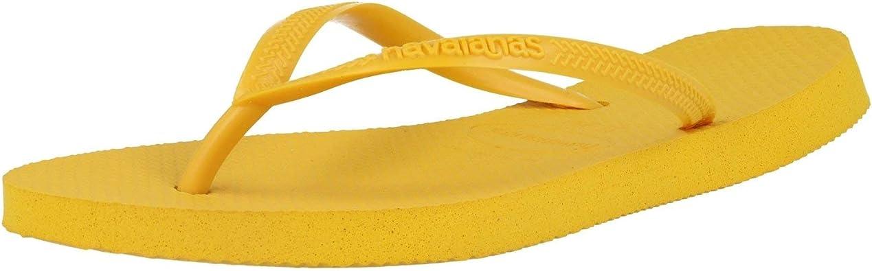 Havaianas Slim Chanclas Mujer, Dorado (Bronze Nude), 43/44 EU: Amazon.es: Zapatos y complementos