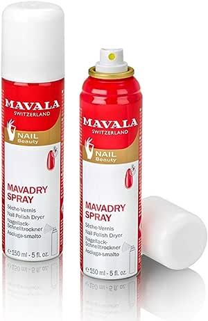 Mavala Malady Spray Nail Polish Dryer for Unisex - 5 oz