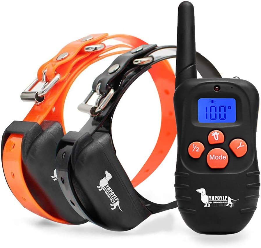 BEHEART Dog Training Collars with Remote, E-Collars for 2 Dogs