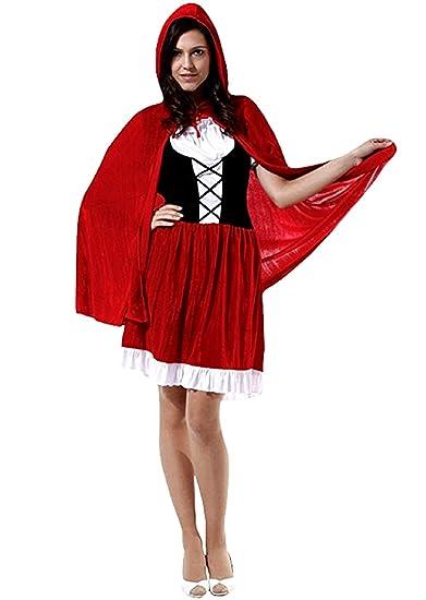 Vestito cappuccetto rosso adulto amazon