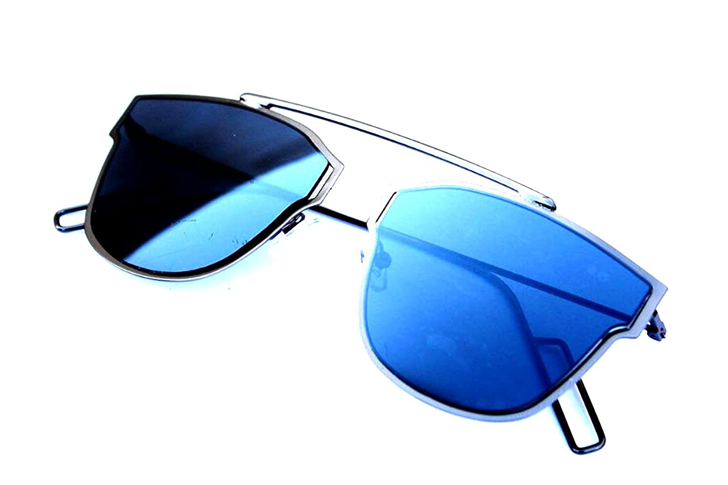 45130172369 Younky Unisex Comboof Uv Protected Cateye Blue Mercury Sunglasses For Men  Women Boys   Girls ( Disbm-Clbmsm