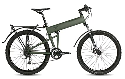 Montague Paratrooper 24 Sd Folding Mountain Bike Small 16
