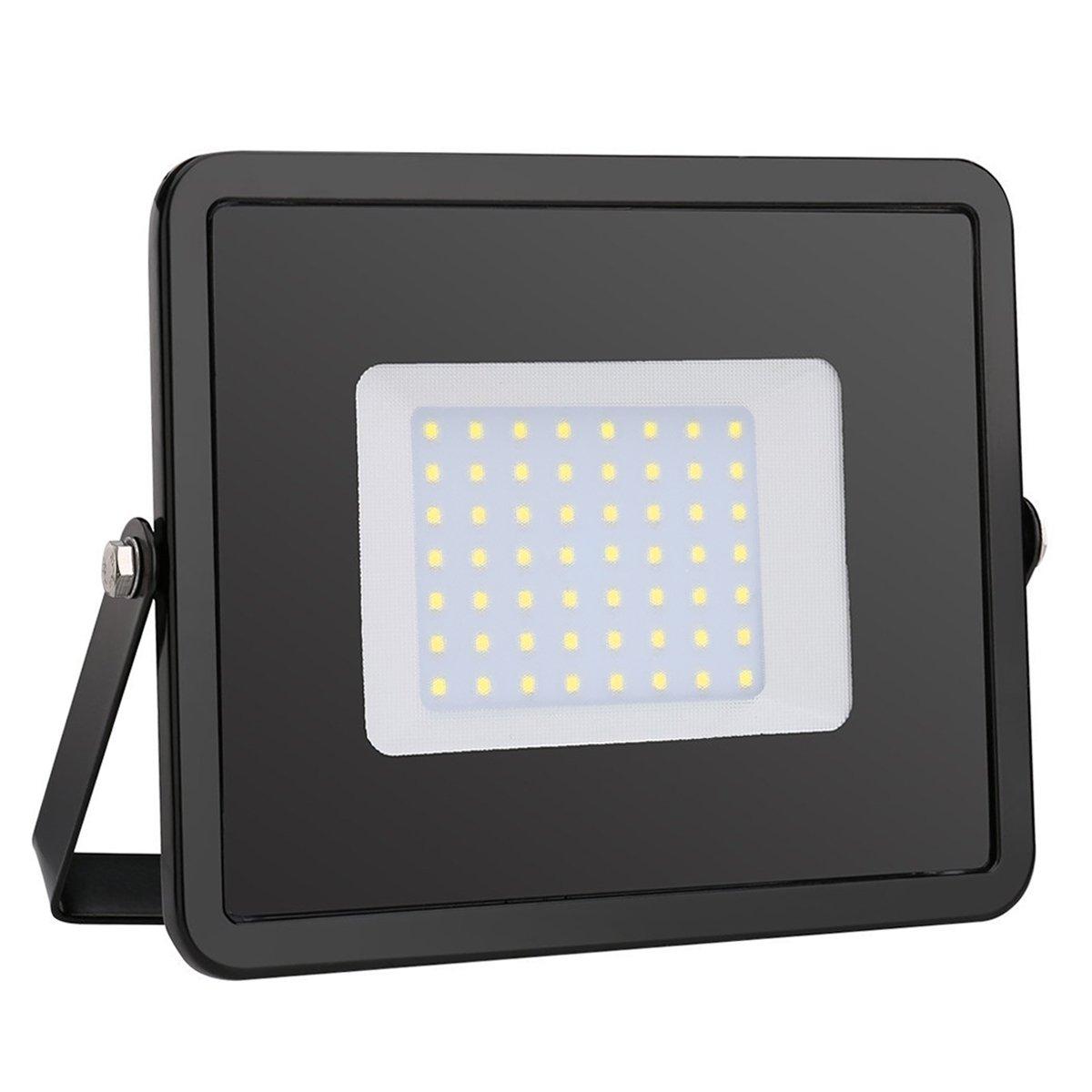 Lighting EVER LE 10W LED Fluter ersetzt 100W Halogenlampe 800lm Warmweiß IP65 wasserdicht LED Außenleuchten Flutlicht Flutlichtstrahler Strahler Scheinwerfer [Energieklasse A+]