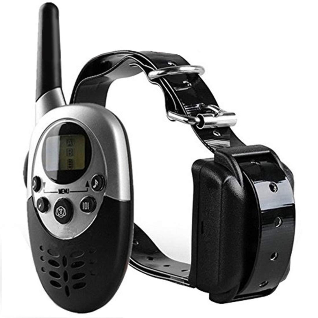 M86 BAOYIT Rainproof Dog Shock Collar with Remote Dog Training Collar, Training Device Every Dog Owner (Size   M86)