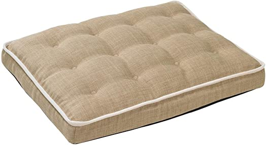 Bowsers Luxury Crate Mattress Dog Bed, X-Large, Flax