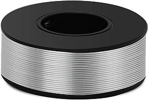 Aluminum Craft Wire 8 Gauge 12 Gauge 18 Gauge, Luxiv 1mm 2mm 3mm Silver Aluminum Wire for Crafting Wire Soft DIY Metal Craft Art Wire(Silver, 18gauge(1mm))