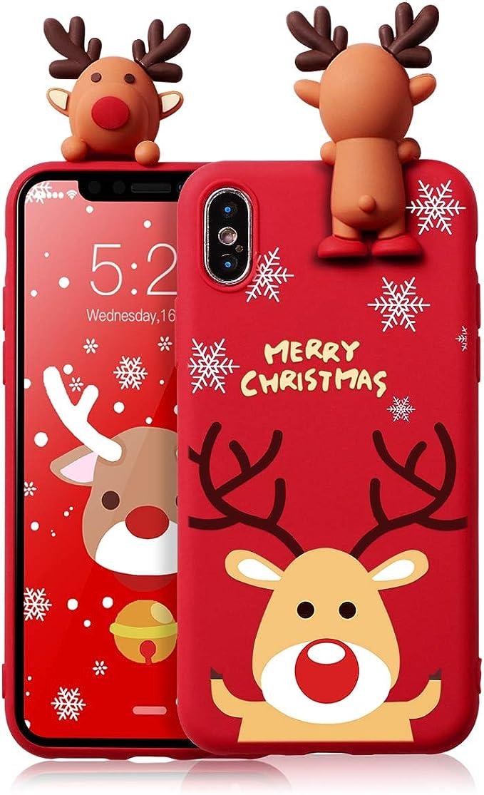 Zhuofan Weihnachten Hülle Für Iphone Se 2020 Elektronik