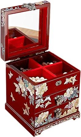 boite à bijoux femme colorée