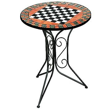 Amazon De Mosaiktisch Schachtisch Mosaik Tisch