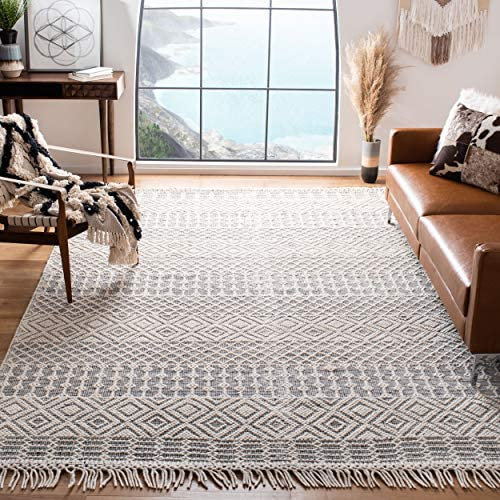 Safavieh Natura Collection NAT852Z Hand-woven Wool Area Rug