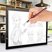 Multifunzione Pieghevole Ideale per Schizzi e Disegni Ejoyous 49 x 42 x 6,5 cm Tavola da Disegno in Legno Formato A2 Art e Craft