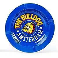 The Bulldog Amsterdam Cenicero de Metal, Color Azul