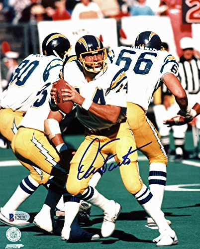Chargers Dan Fouts Authentic Signed 8x10 Photo Autographed BAS #E20707 ()