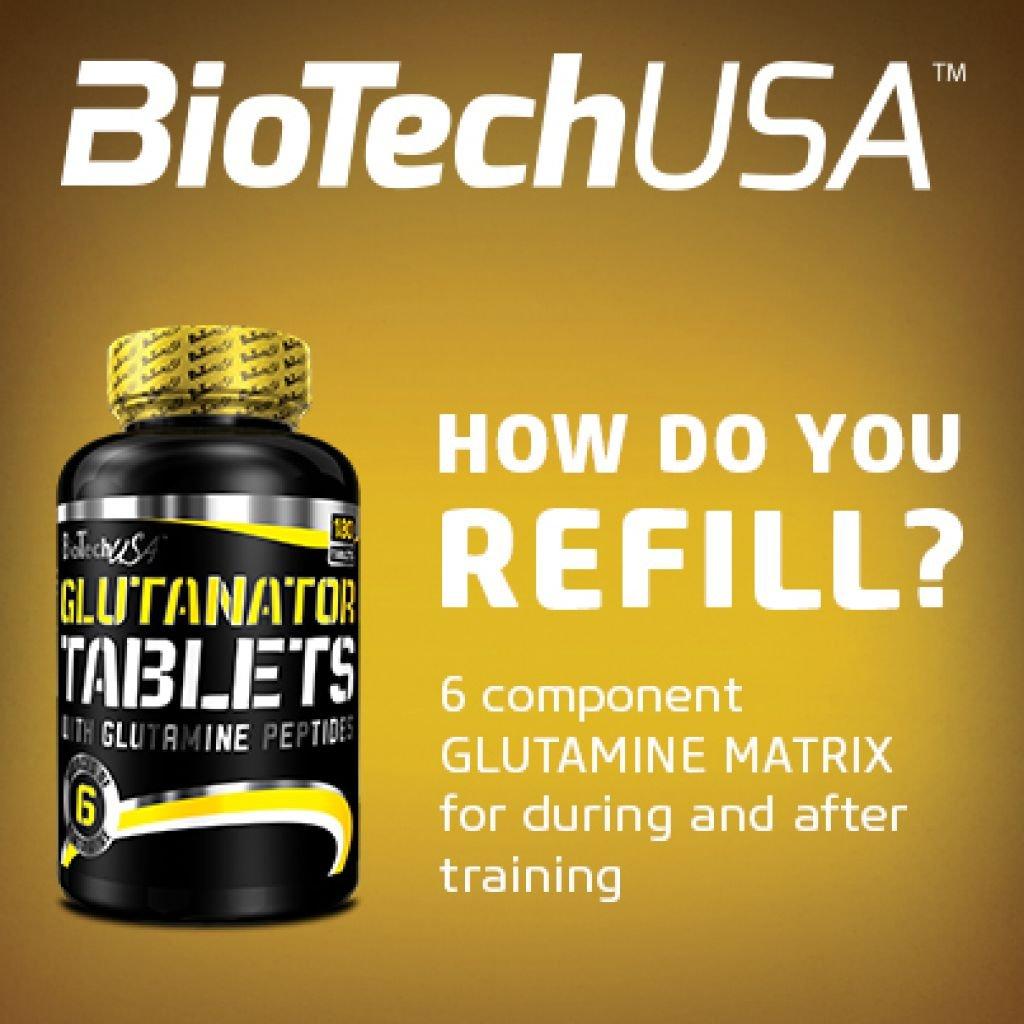 Biotech USA Glutanator Tablets Aminoácido - 1900 gr: Amazon.es: Salud y cuidado personal