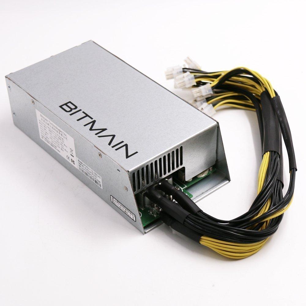 PSU en almac/én r/ápido Env/ío 1200/W @ 110/V 1600/W @ 220/V Bitcoin Miners AntMiner S9/L3/D3/Stromversorgung APW3/+