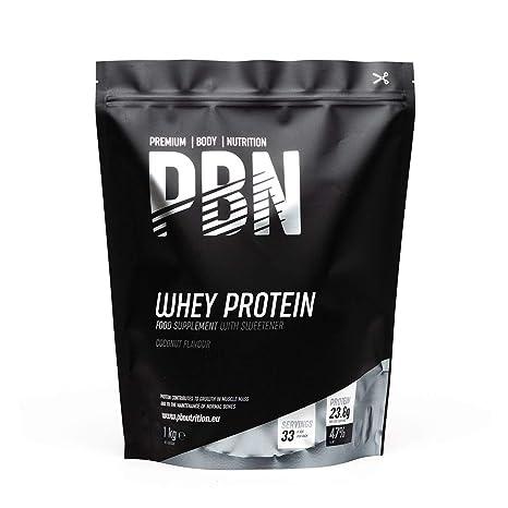 PBN - Proteína de suero de leche en polvo, 1 kg (sabor coco)