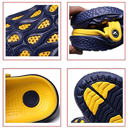 Gaatpot Garden Clogs Beach Slippers Summer Outdoor Casual Shoes Mules for Men's Women's Purple beEqn2xQI