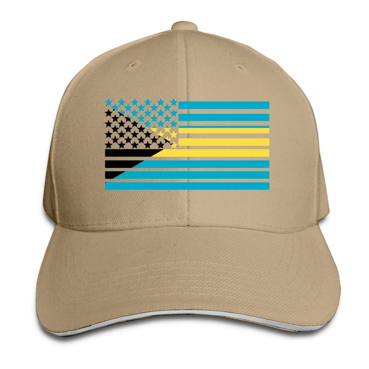 Gorra de béisbol Unisex Bandera de Las Bahamas Americanas Algodón ...