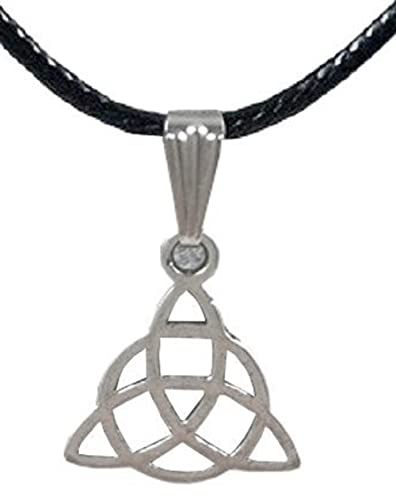 Inception Pro Infinite Necklace With Triquetra Symbol Pendant And