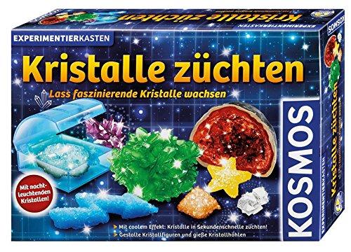 Giochi Uniti Kosmos 643522 - Coltivare Cristalli, Kit Scientifico, Versione Tedesca