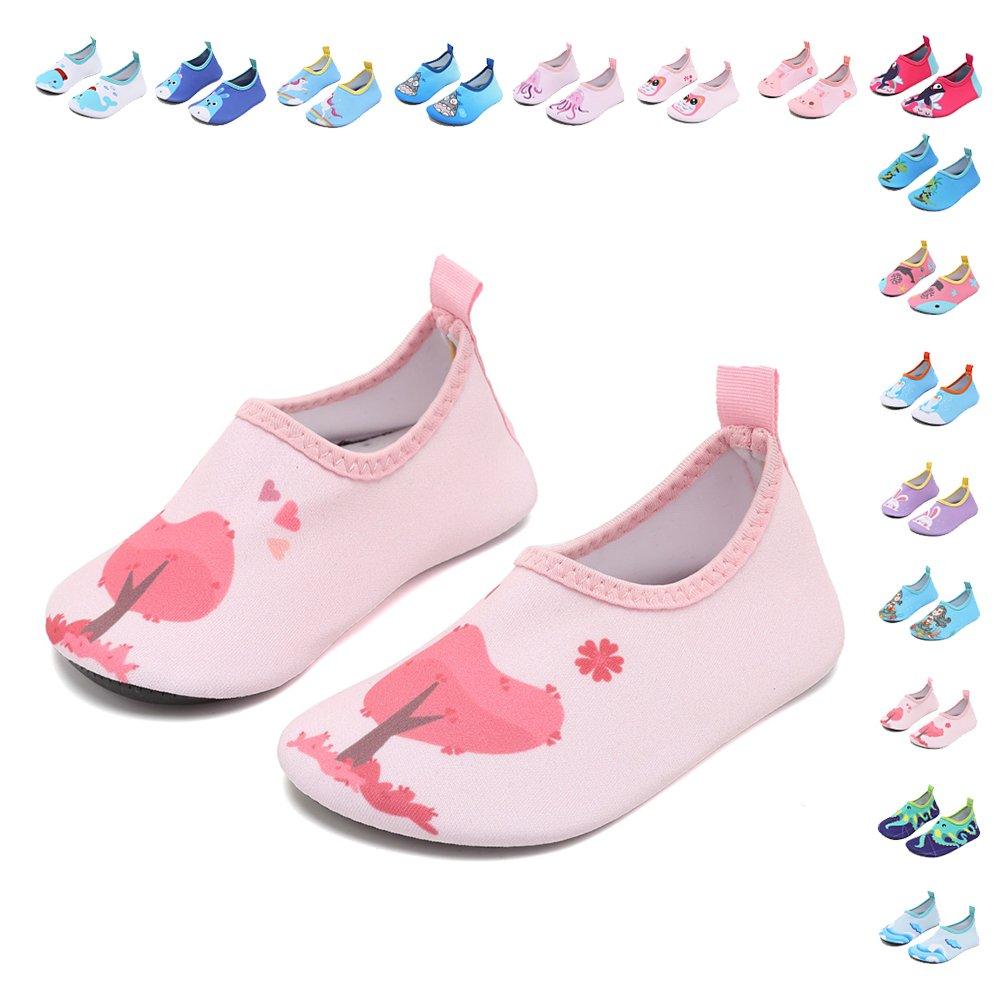 5268a1db3169 Galleon - CIOR Fantiny Baby Water Shoes Infant Swim Shoes Baby Boys Girls  Barefoot Skin Aqua Socks For Beach Swim Pool Walking