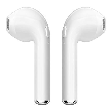Auricular Bluetooth, kunli auriculares inalámbricos auriculares estéreo in-Ear auriculares TWS iPhone X 8