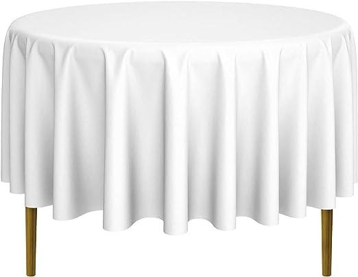 "12 restaurant wedding linen table cloths poly round 120/"""