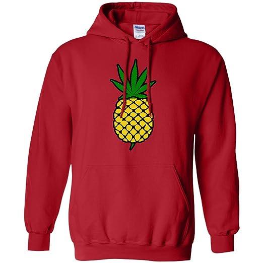 Pineapple Weed Leaf Hoodie