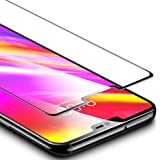 ESR Tempered Glass LG G7 ThinQ Full Coverage (Black) LG G7 Ultra-Strength Index 9H Screen Protector Tempered Glass Screen Protection Film Compatible for LG G7 ThinQ 6.1 inch Output 2018