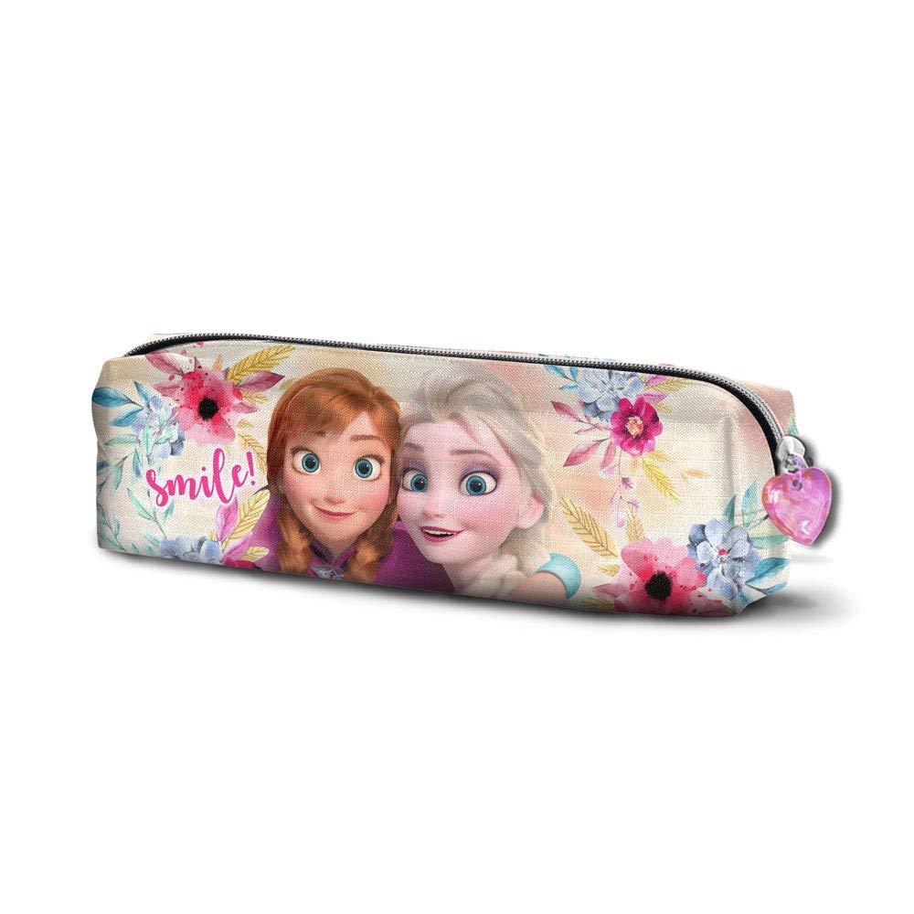 22 cm Multicolour Karactermania Frozen La Reine des Neiges Smile Carr/é Trousses