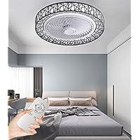 CDwxqBB Ventilador De Techo Ventilador De Lámpara De Techo LED, Regulable Y…