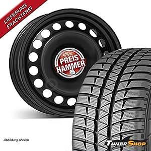 Invierno | Completo juego de ruedas ruedas | Llantas de Acero | Neumáticos | 6,