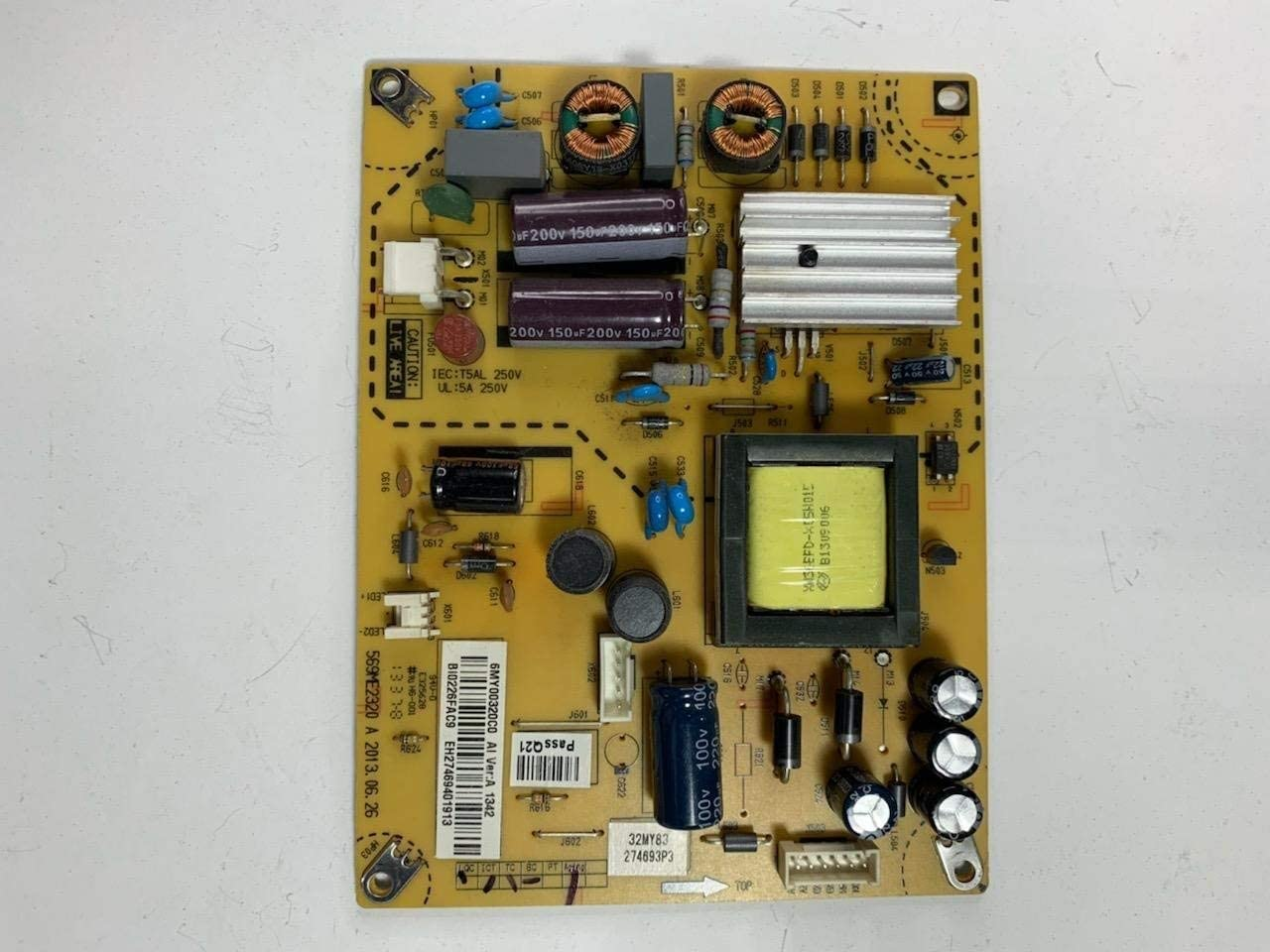 INSIGNIA 32 NS-32D201NA14 6MY00320C0 Power Supply Board Unit