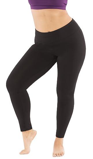 6bcb5fa11c8 Yogatech Plus Size Everyday Essential Basic Stretch 27 quot  Yoga Legging  Moisture Wicking (1x