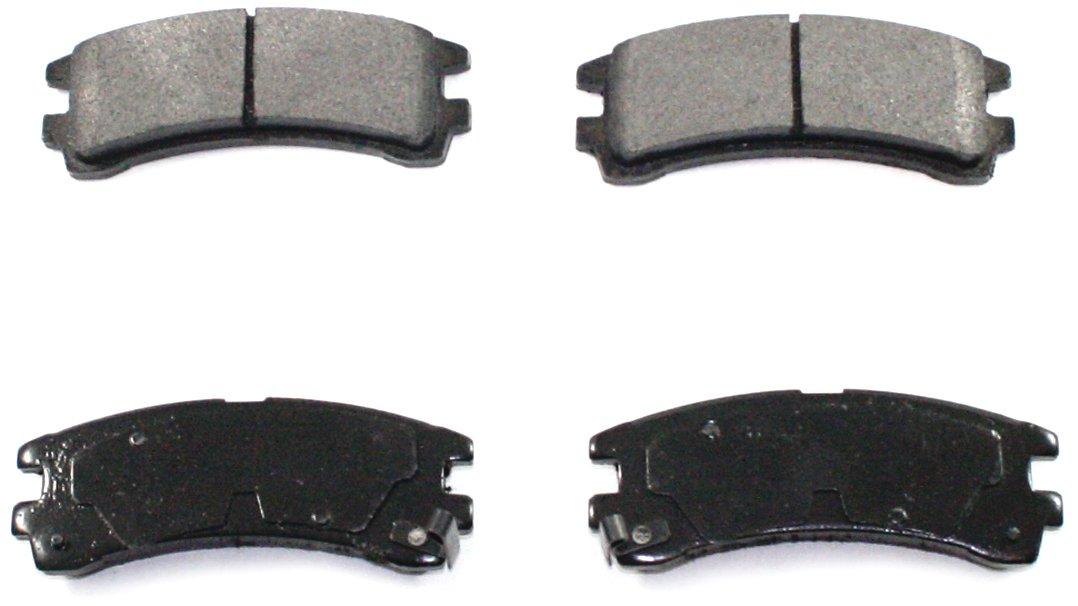 DuraGo BP401 MS Rear Semi-Metallic Brake Pad