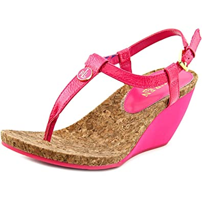 9f5e314646be Lauren Ralph Lauren Women s Reeta Wedge Sandal