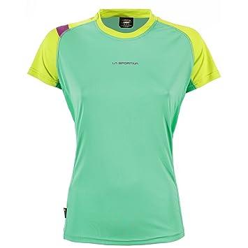 La Sportiva Move - Camiseta Running Mujer - Verde Talla L 2018