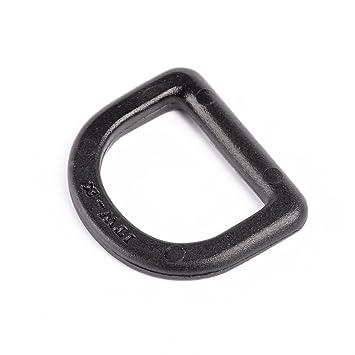 "Stabiler D-Ring /""Classic DR/"" aus Nylon Kunststoff für 25mm Gurtband"